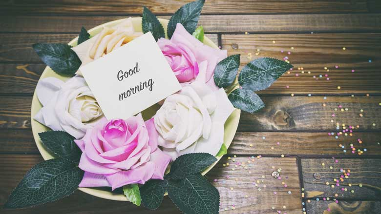 Good Morning Flowers Beautiful Greeting Pictures