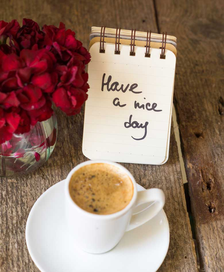 Good Morning Flowers Quote