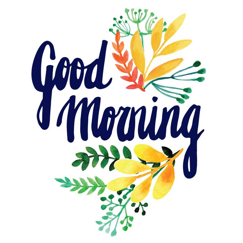 good morning greeting cards flowers