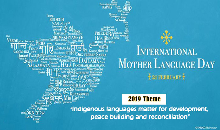 Interntional Mother Language Day Poster By UNESCO
