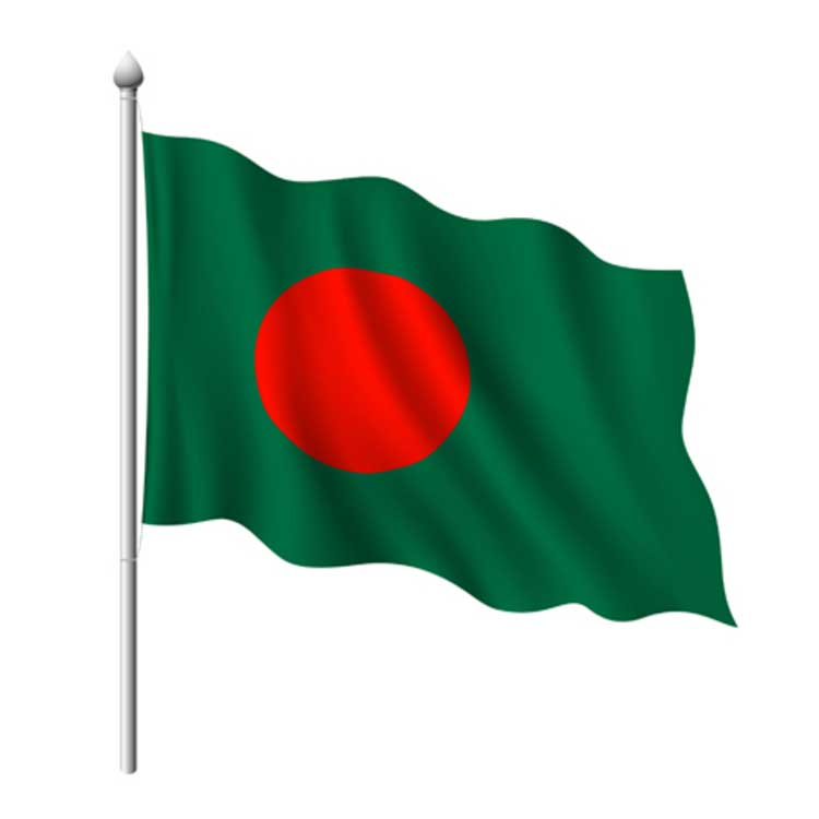 3d bangladesh flag download